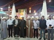 حضور جمعی از فعالان و موکب داران اربعین عراقی در ایران