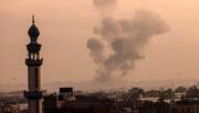 مقبوضہ فلسطین؛ غزہ میں اسکول اور رہائشی عمارتوں پر اسرائیلی بمباری