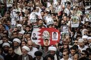 بحرین میں ڈکٹیٹر آل خلیفہ کے خلاف عوام کا احتجاجی مظاہرہ