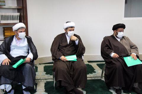 تصاویر/ نشست شورای استانی حوزه علمیه خراسان شمالی