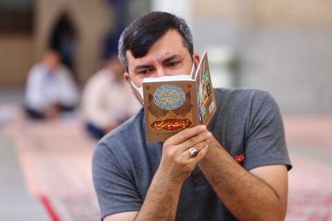 قرائت زیارت جامعه کبیره در حرم بانوی کرامت