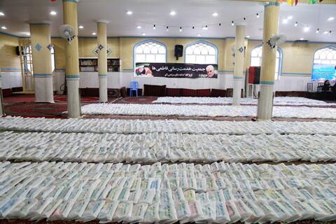 تصاویر / توزیع چهار هزار بسته لوازم التحریر به نیازمندان توسط جمعیت خدمت رسانی فاطمی ها