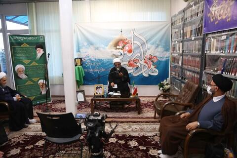 تصاویر/ جشن ولادت امام هادی(ع) و تجلیل از خبرنگاران و رسانه های برتر ماه دهم در موسسه امام هادی
