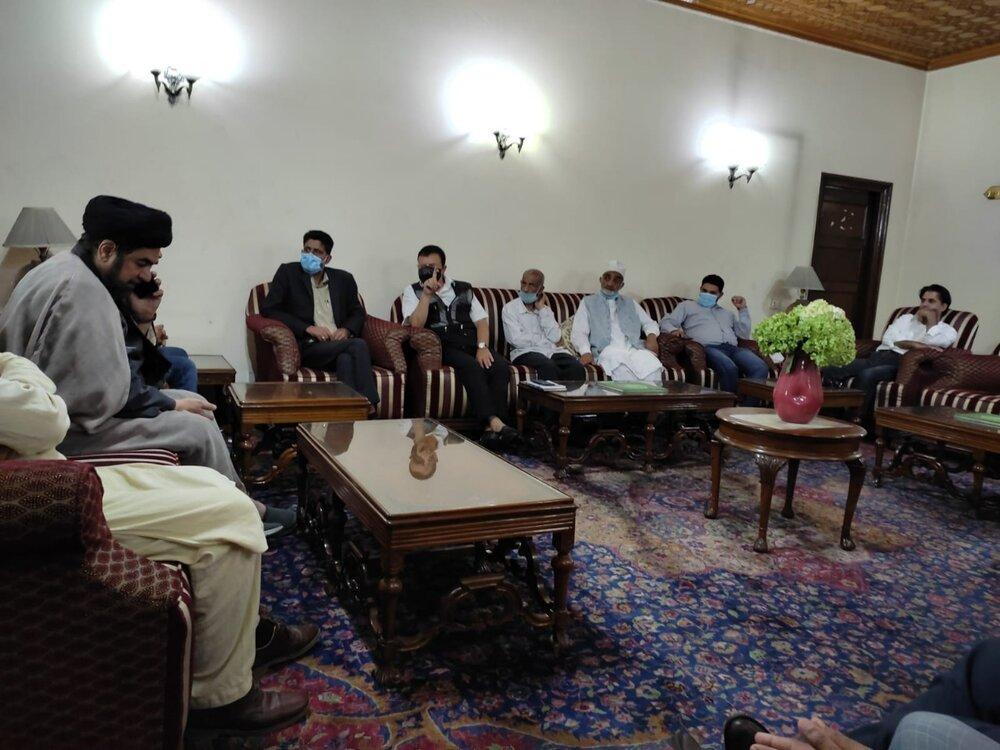 مولانا کلب جواد نقوی کا دورۂ جموں و کشمیر، وقف بورڈ کی تشکیل اور جلوس ہائے عزا کے مسئلہ پر گورنر سے اہم بات