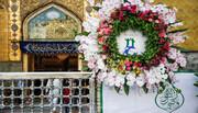 بالصور/ شاهد مظاهر الفرح بحلول ذكرى عيد الغدير الاغر في مرقد أمير المؤمنين علي بن أبي طالب (ع)