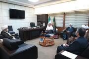 رئیس کمیسیون حقوق بشر اسلامی لندن با دبیرکل مجمع جهانی تقریب دیدار کرد