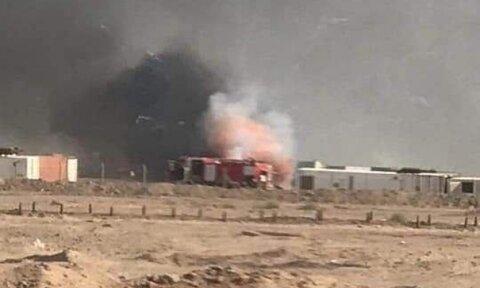 حمله به اردوگاه حشد الشعبی