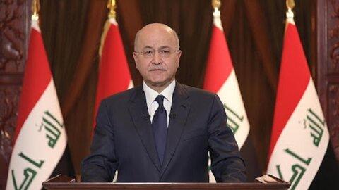 برهم صالح رئیس جمهور عراق