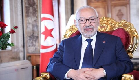 راشد الغنوشی رهبر جنبش النهضه تونس