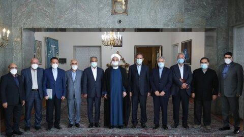 رئیس جمهور در آخرین جلسه ستاد هماهنگی اقتصادی دولت