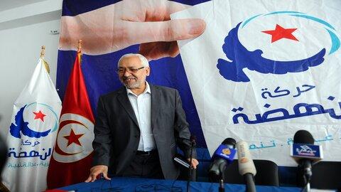 جنبش النهضه تونس - راشد الغنوشی