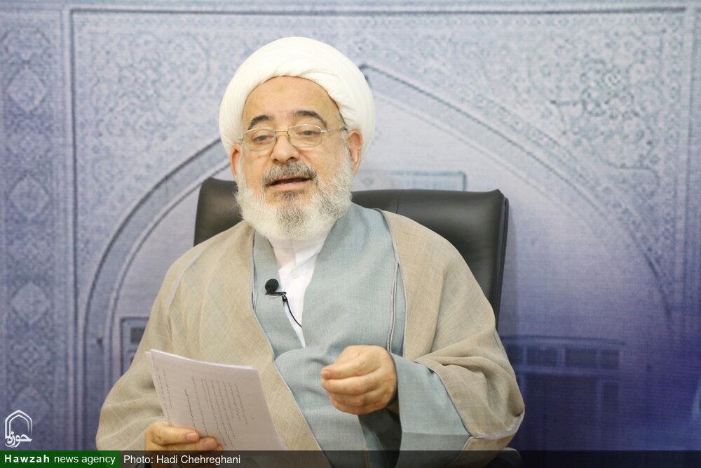 تصاویر / مصاحبه با حجت الاسلام والمسلمین طبسی