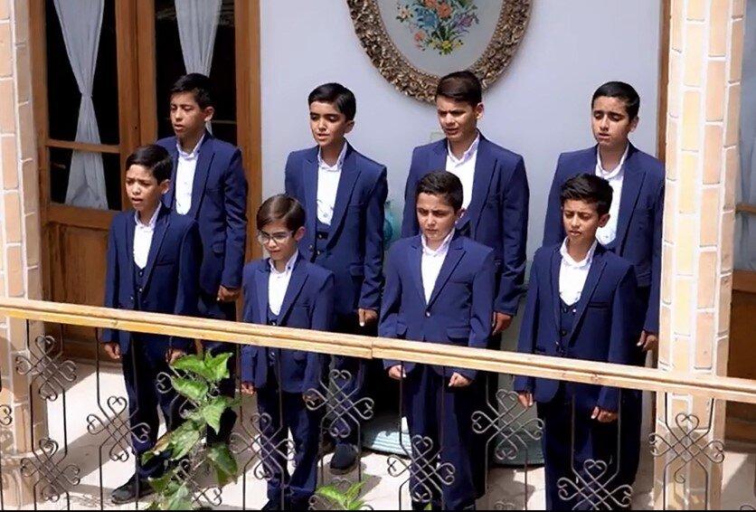 گروه سرود بچه های مسجد
