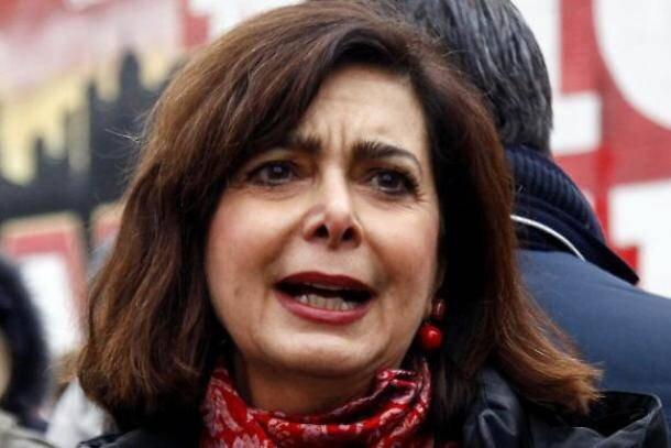 لورا بولديريني عضو البرلمان الإيطالي ورئيسة اللجنة الدائمة لحقوق الإنسان