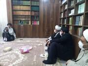 دیدار مدیر حوزههای علمیه خواهران با نماینده ولیفقیه در خوزستان