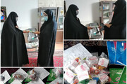 فضای مدارس علمیه خواهران استان یزد غدیری شد + عکس