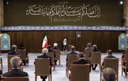 تصاویر/ صدر حسن روحانی اور کابینہ کے ارکان کی رہبر انقلاب اسلامی سے آخری ملاقات، حالیہ ایٹمی مذاکرات کے سلسلے میں اہم تبصرہ