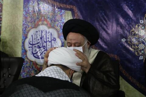 تصاویر/ آیین عمامه گذاری طلاب حوزه علمیه خوزستان
