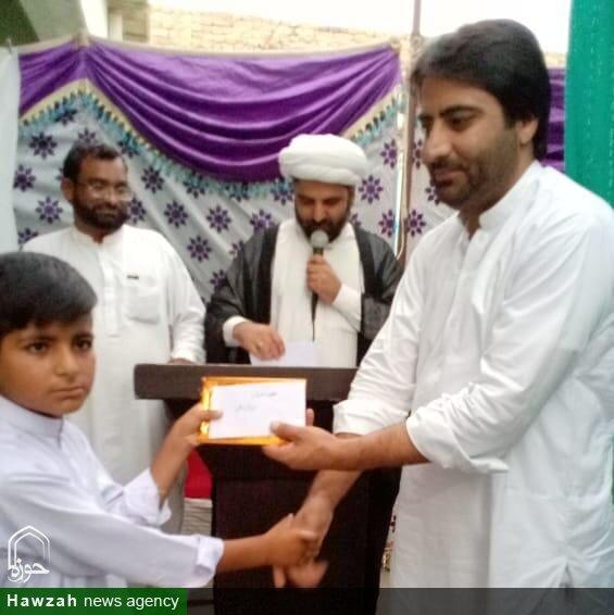 تصاویر/ مدرسہ خاتم النبیین کوئٹہ میں جشن عید غدیر و مضمون نویسی،کوئز اور تقریری مقابلہ