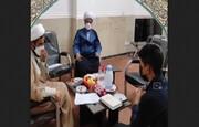 کلیپ | دوره میثاق طلبگی سال ۱۴۰۰ مدرسه علمیه امام صادق(ع) حاجی آباد