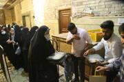 تصاویر / اطعام سه هزار غذای نذری بمناسبت عید سعید غدیر در مسجد امام حسن عسگری (ع) قم