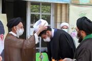 تصاویر   عمامه گذاری طلاب همدانی در روز عید غدیر