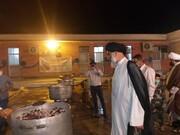 خداقوت نماینده ولیفقیه در خوزستان به جهادگران ضیافت علوی