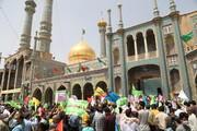 دنیا بھر میں آج عاشقان اھلبیت (ع) عیدِ غدیر انتہائی مذہبی جوش و خروش سے منارہے ہیں