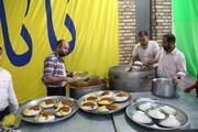 تصاویر / توزیع غذای نذری روز عید سعید غدیر خم
