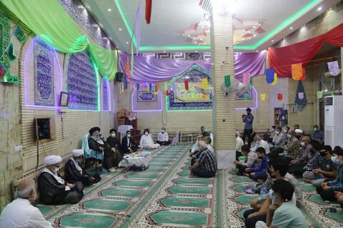 تصاویر/ مراسم جشن عید غدیر در مسجد امام حسن عسکری(ع) اهواز
