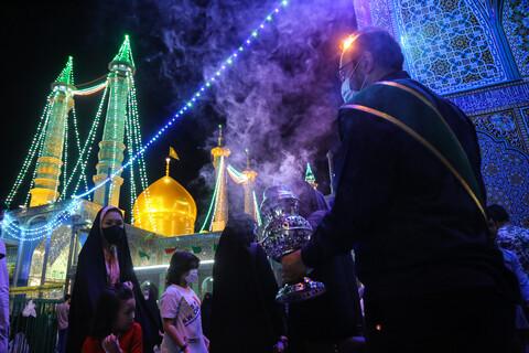 حال و هوای حرم حضرت معصومه(س) در شب عید غدیر