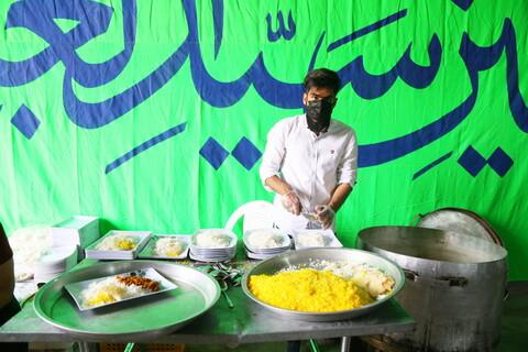 تصاویر / اطعام نذری روز عید سعید غدیر خم در قم