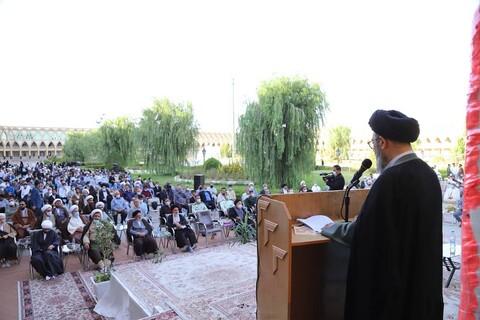 تصاویر / مراسم عمامه گذاری طلاب حوزه علمیه بناب در روز عید غدیر خم