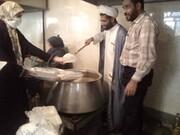 ۶۰۰ پرس غذای گرم میان ایتام و نیازمندان حاشیه شهر شیراز توزیع شد