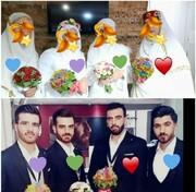 برگزاری ۳۲ جشن ازدواج به سبک زندگی اسلامی در مارگون+ فیلم و عکس