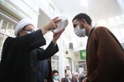تصاویر/ عمامه گذاری و جشن عید غدیر در دفتر آیت الله العظمی فاضل لنکرانی(ره)