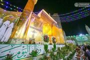 تصاویر/ حال و هوای حرم و زائران حرم مولا امیرالمومنین(ع) در ایام عید غدیر