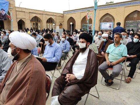 تصاویر/ مراسم ختم ابوالشهیدین مرحوم حجت الاسلام والمسلمین حاج سید رضا حسینی