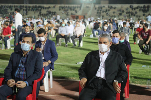 نمایش وحدت و یکپارچگی اقوام خوزستان در اجتماع غدیریون اهواز