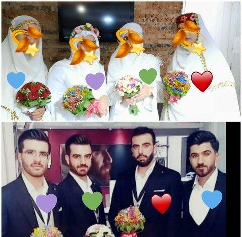 تصاوبر/جشن ازدواج اسلامی در مصلای امام رضای (ع)مارگون