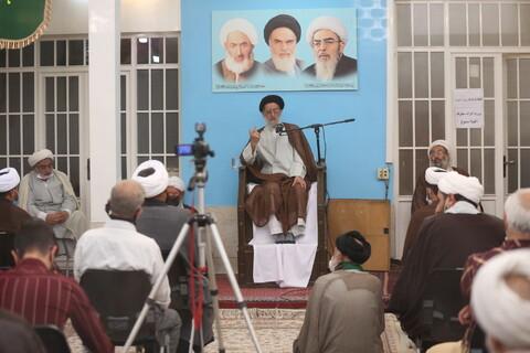تصاویر/ عمامه گذاری و جشن عید غدیر در بیت آیت الله العظمی فاضل لنکرانی(ره)