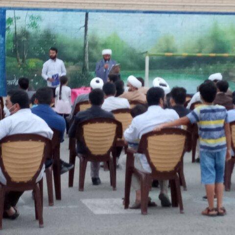 مراسم جشن عید غدیر طلاب کهگیلویه و بویراحمد