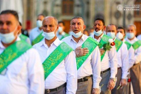 حال و هوای حرم و زائران حرم مولا امیرالمومنین(ع) در ایام عید غدیر