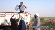فعالیت یک هزار طلبه در جریان بحران آب خوزستان | تشکیل ۵ قرارگاه و خدمت رسانی ۱۰۰ گروه جهادی | جهاد ادامه دارد...