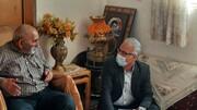 مدیرکل بنیاد شهید سمنان با خانواده شهید مؤمنیان دیدار کرد + عکس