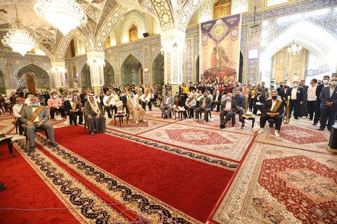 جشن عید غدیر در حرم امامین کاظمین (علیهما السلام)