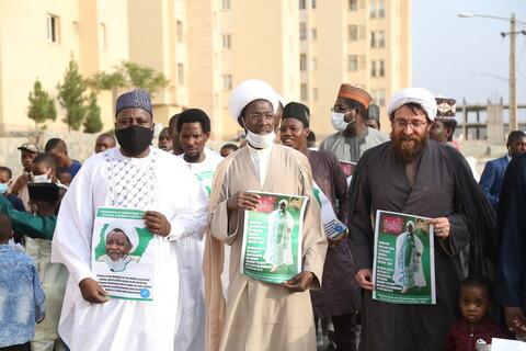 تصاویر / جشن و شادی طلاب غیر ایرانی به مناسبت آزادی شیخ ابراهیم زاکزاکی