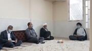 دیدار منتخبین ششمین دوره شورای اسلامی شهر اهواز با نماینده ولیفقیه در خوزستان