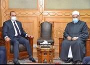 رئيس ديوان الوقف السني يبحث مع وكيل الازهر ترتيبات وبرنامج زيارة الشيخ احمد الطيب للعراق