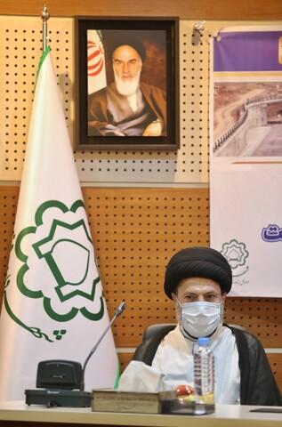 تصاویر/ آیین افتتاح 12 پروژه عمرانی شهرداری قم با حضور آیت الله اعرافی